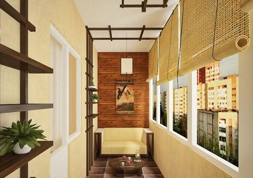 Дизайнерские идеи обустройства балкона - homeestet - подарки.